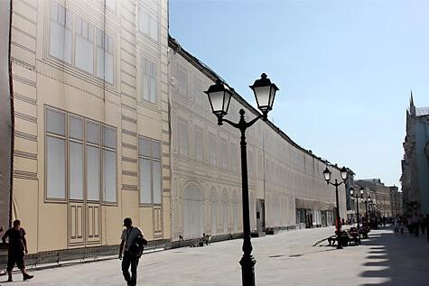Фальшфасад Красная Площадь