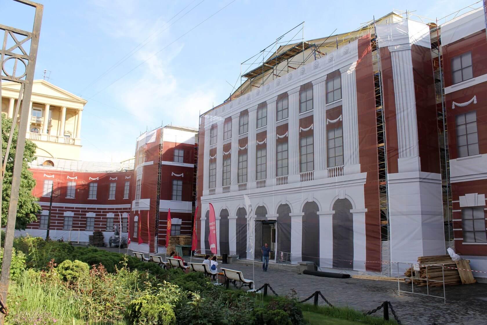 Фальшфасад Музей Истории